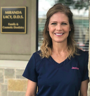 Staff photo (JW) for the office of Plano, TX dentist Dr. Miranda Lacy.